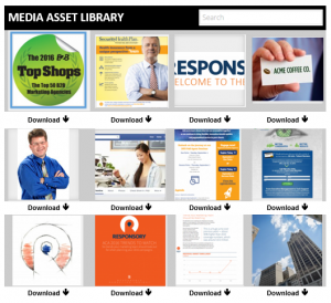 media library sample