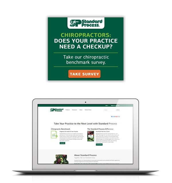 Exemplary match rate gets Standard Process campaign in front of the right decision makers.